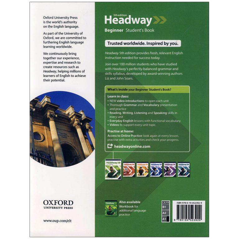 Headway Beginner 5th Edition