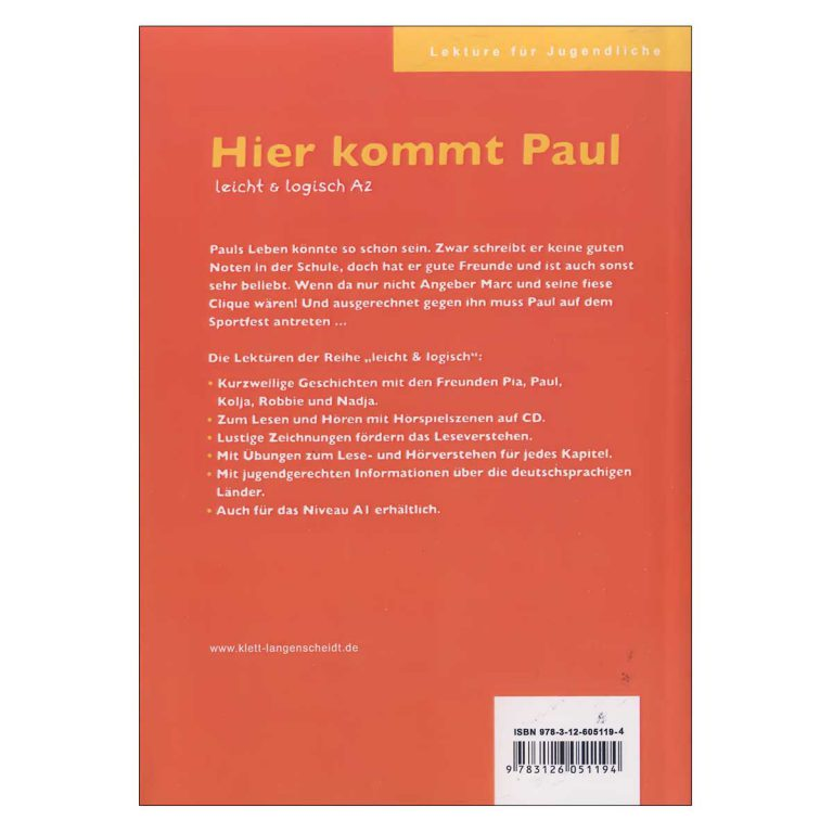 داستان آلمانی Hier kommt Paul