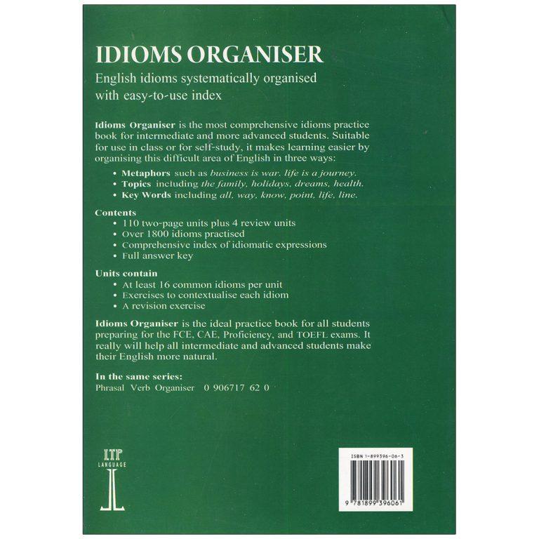 Idioms Organiser