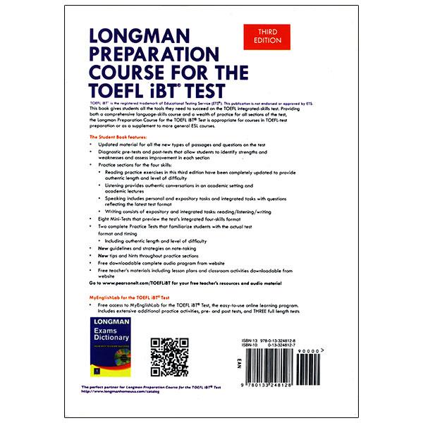 Longman Preparation Course for the TOEFL IBT