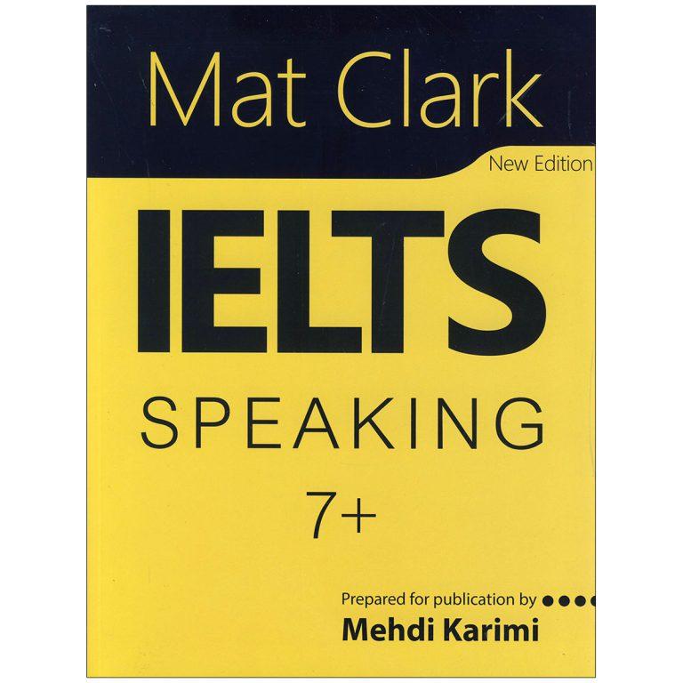 Mat Clark IELTS Speaking Plus 7