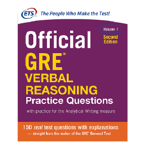 کتاب Official GRE Verbal Reasoning Practice Questions 2nd V1