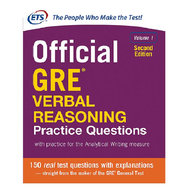 کتاب Official GRE Verbal Reasoning