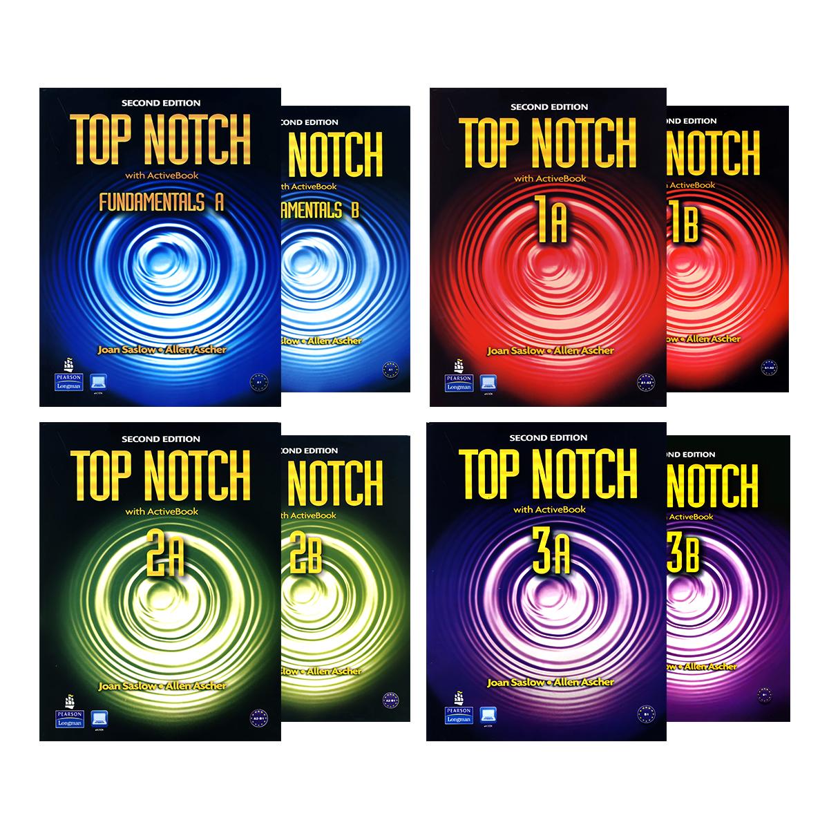 Top Notch Second Edition Book Series – فروشگاه انتشارات زبان مهر