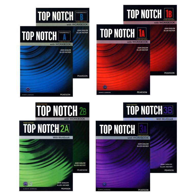 Top Notch Third Edition Book Series