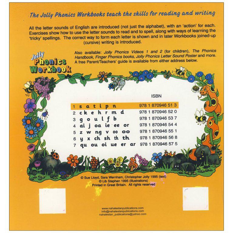Jolly Phonics Workbook Book 1
