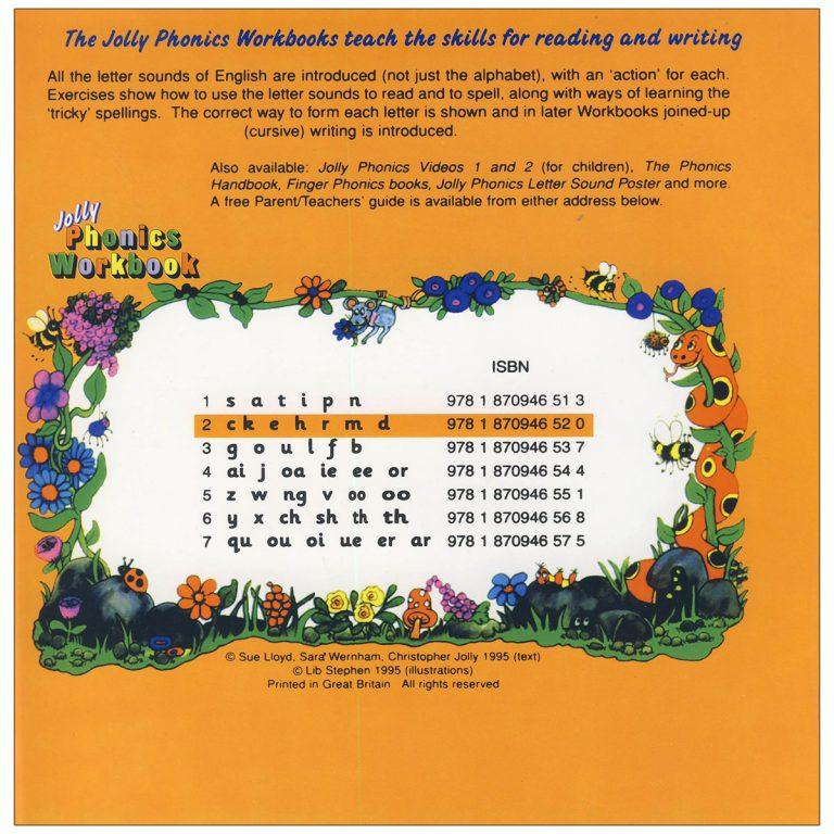 Jolly Phonics Workbook Book 2