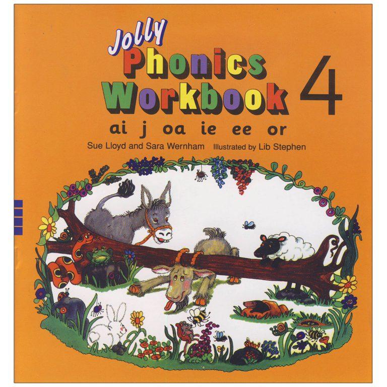 Jolly Phonics Workbook Book 4