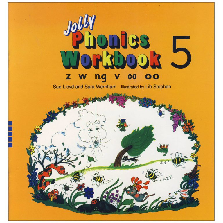 Jolly Phonics Workbook Book 5