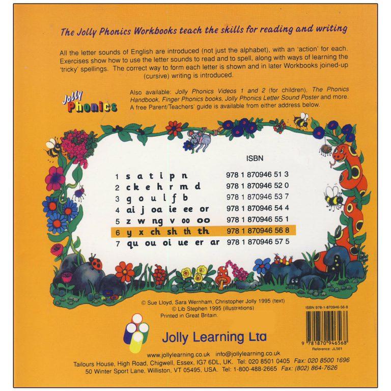 Jolly Phonics Workbook Book 6