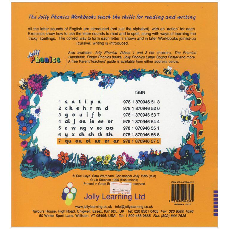 Jolly Phonics Workbook Book 7