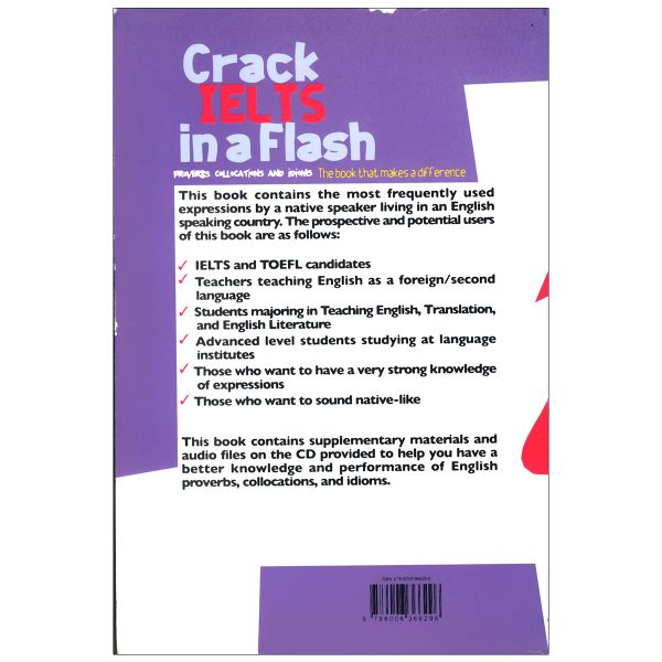 crack ielts in a flash proverbs collocations and idioms-back