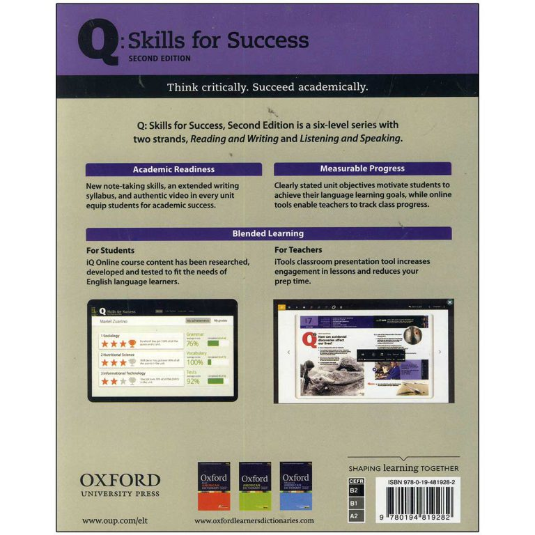 کتاب Q Skills for Success 4 Listening and Speaking Second Edition