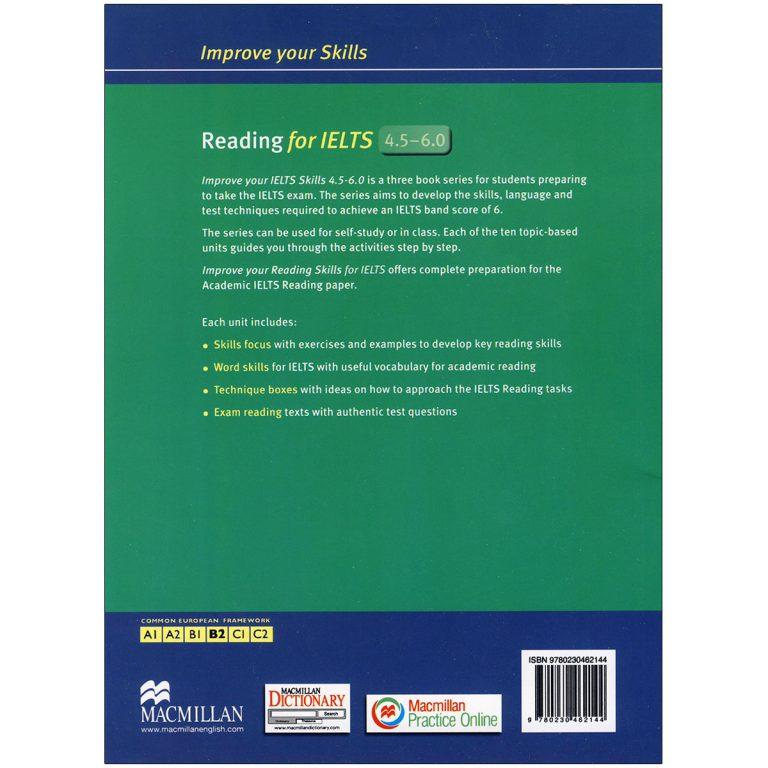 Improve Your Skills Reading for IELTS 4.5 – 6