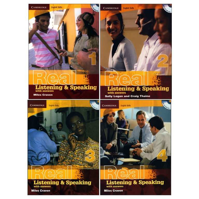 Real Listening and Speaking book series