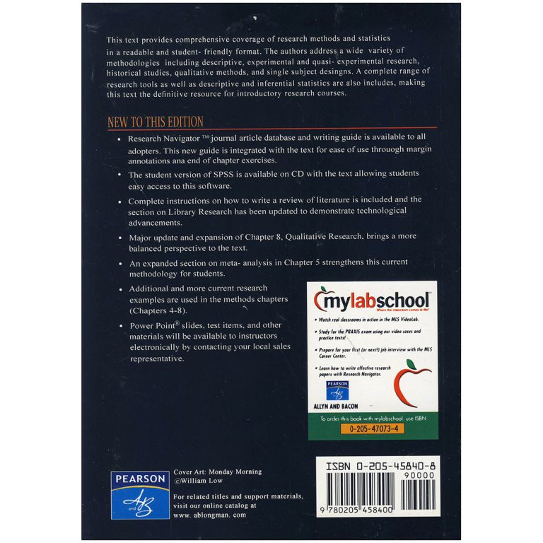 Research in Education 10th Edition