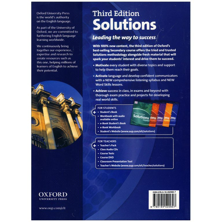 Solutions Advanced Third Edition