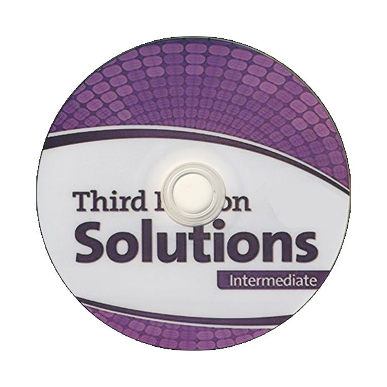 Solutions Intermediate Third Edition