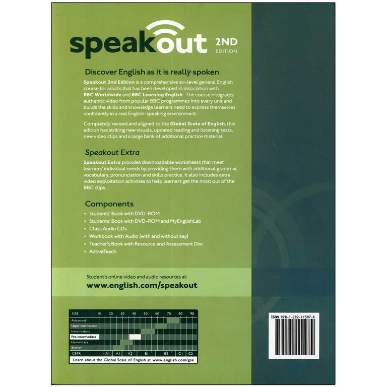Speak Out Pre Intermediate