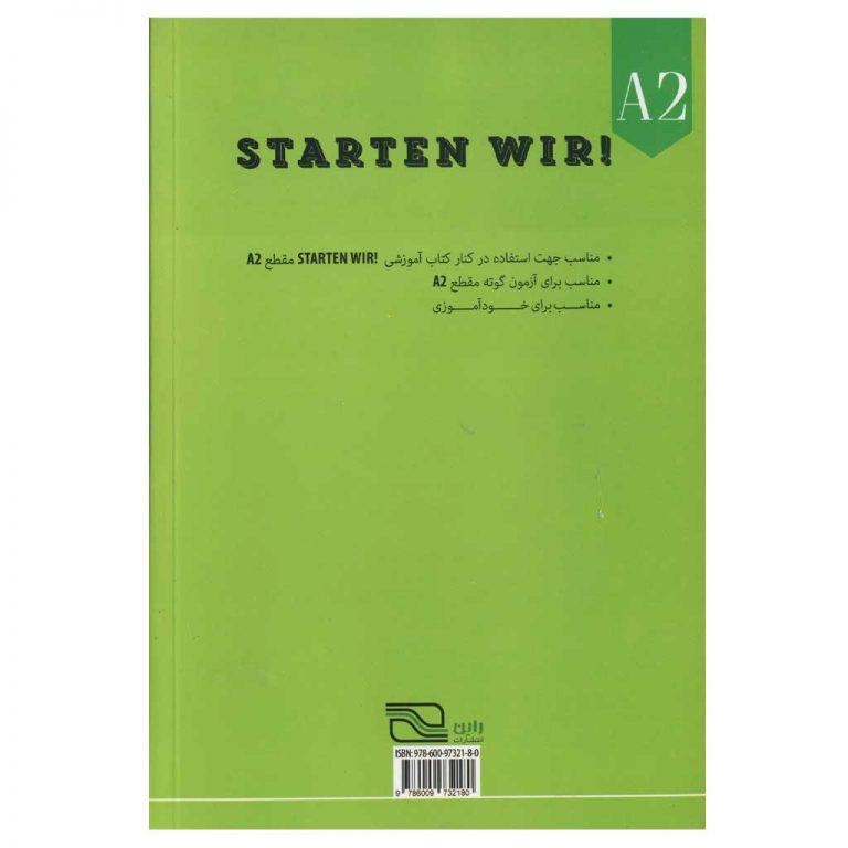 دستور زبان آلمانی STARTEN WIR A2