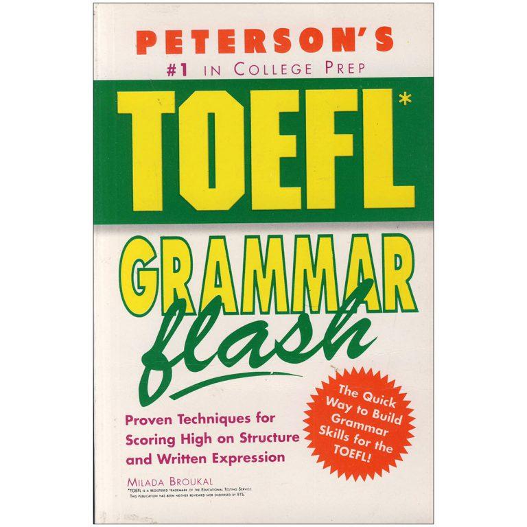 TOEFL Grammar Flash