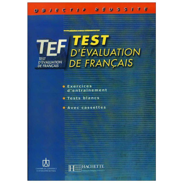 کتاب TEF test