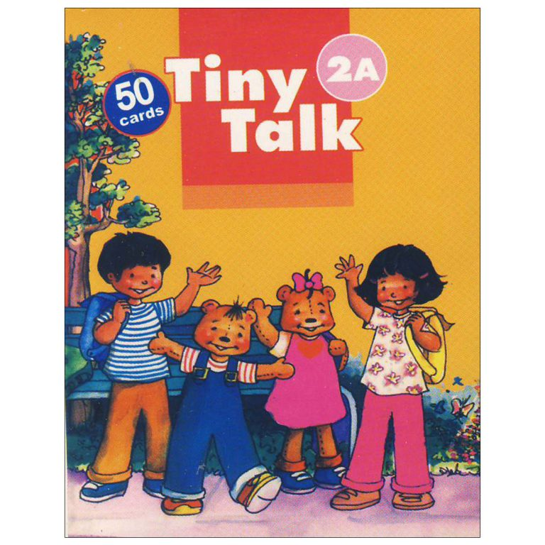 Tiny Talks Student Book & Workbook & Flash Cards