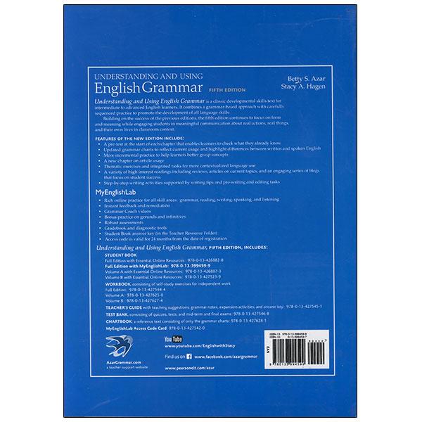 Understanding English Grammar 5th Edition Betty Azar