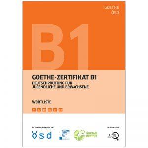 Goethe-Zertifikat B1 Wortliste