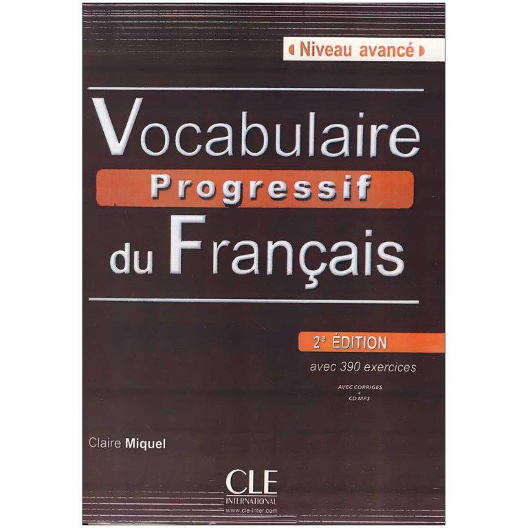 Vocabulaire Progressive du francais niveau Avance