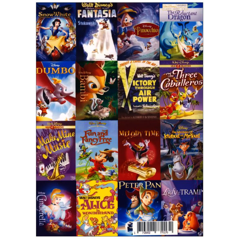 والت دیزنی WALT DISNEY COLLECTION ENGLISH PACK 1