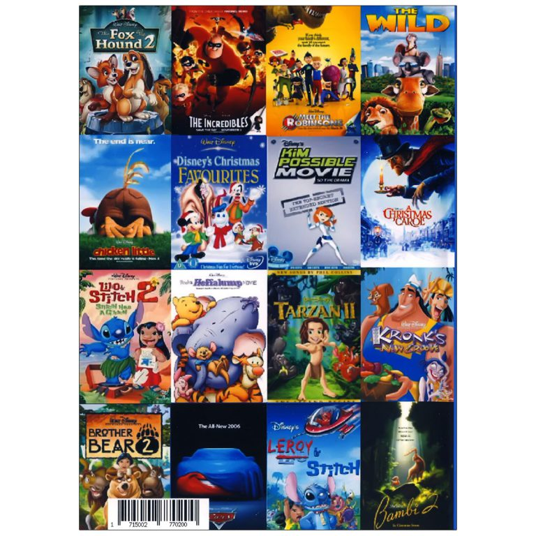 والت دیزنی WALT DISNEY COLLECTION ENGLISH PACK 4
