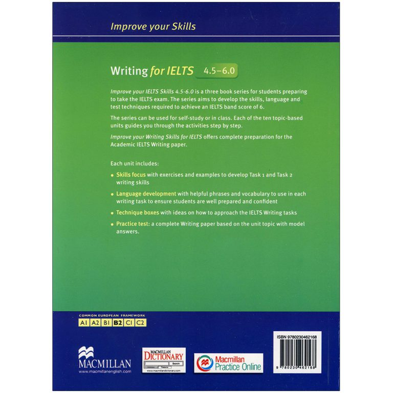 Improve Your Skills Writing for IELTS 4.5 – 6
