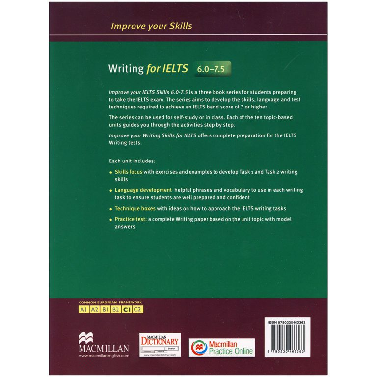 Improve Your Skills Writing for IELTS 6 – 7.5
