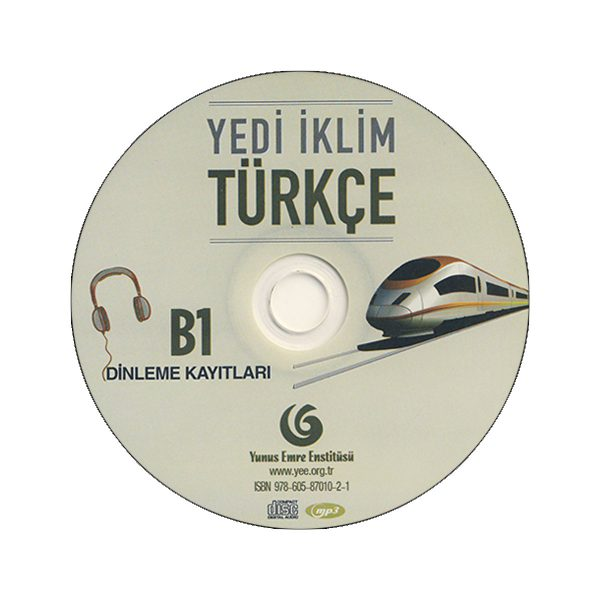 Yedi-Iklim-Turkce-B1-CD