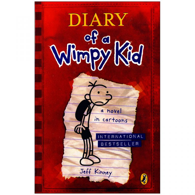 diary of a wimpy kid a novel in cartoons