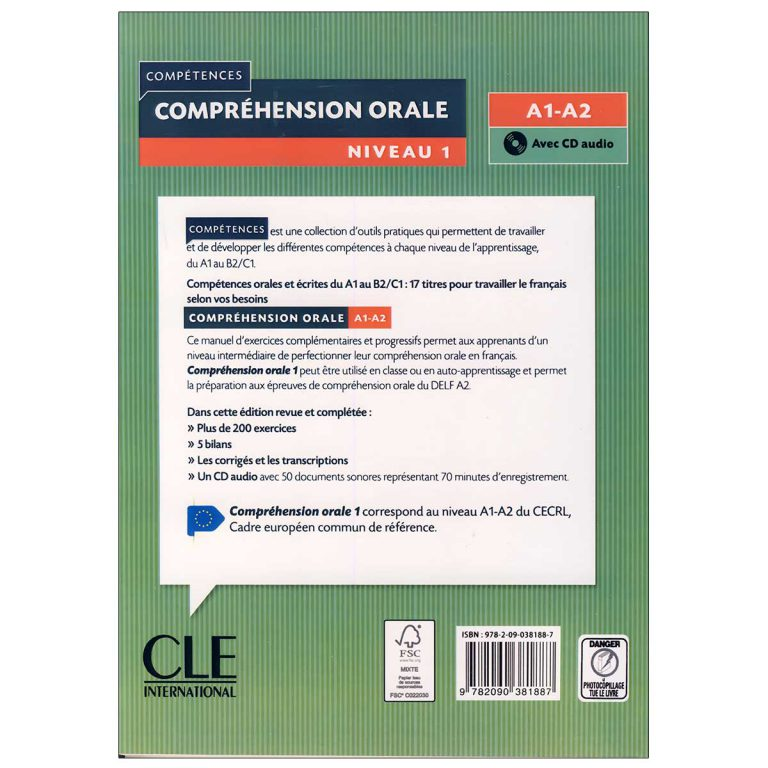 Comprehension Orale A1 A2