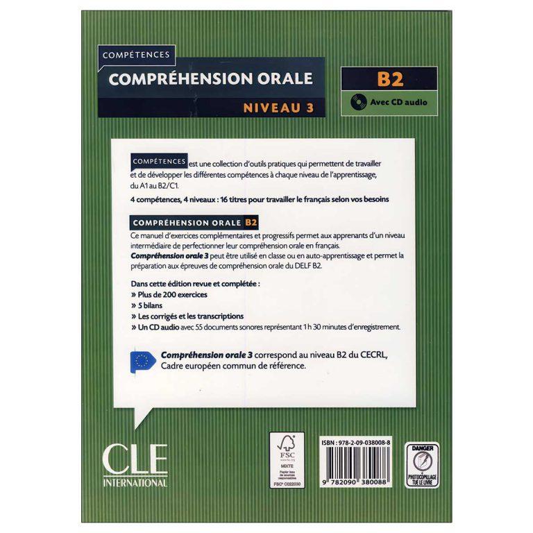 Comprehension Orale Niveau B2