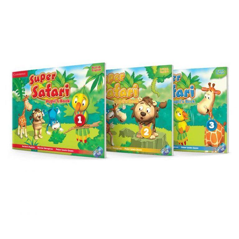 Super Safari Book Series