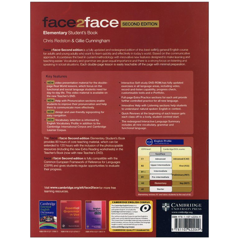 Face 2 face Elementary Second Edition