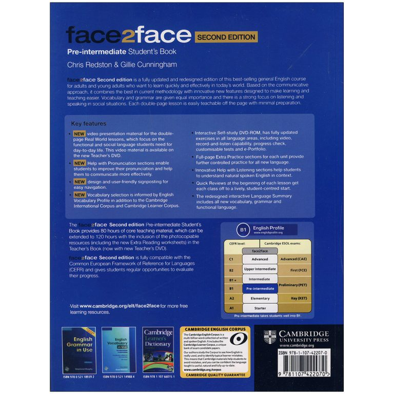 face2face Pre Intermediate Second Edition