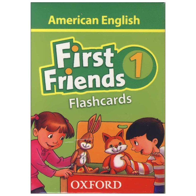 فلش کارت American First Friends 1