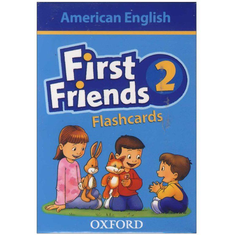 فلش کارت American First Friends 2