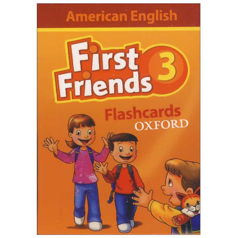 فلش کارت American First Friends 3
