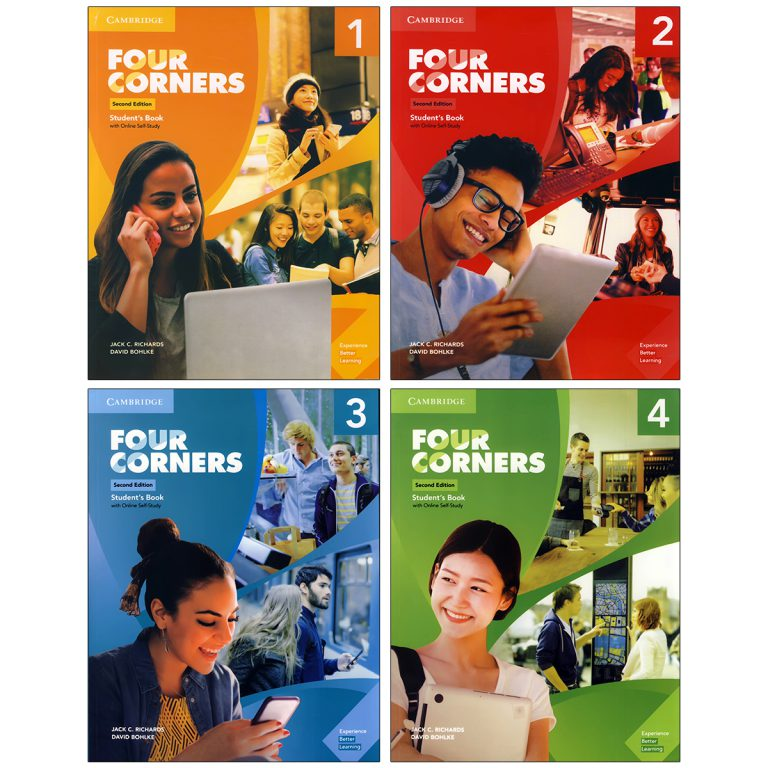 Four Corners Second Edition Book Series