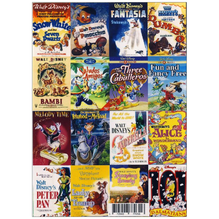 والت دیزنی WALT DISNEY COLLECTION French Pack 1