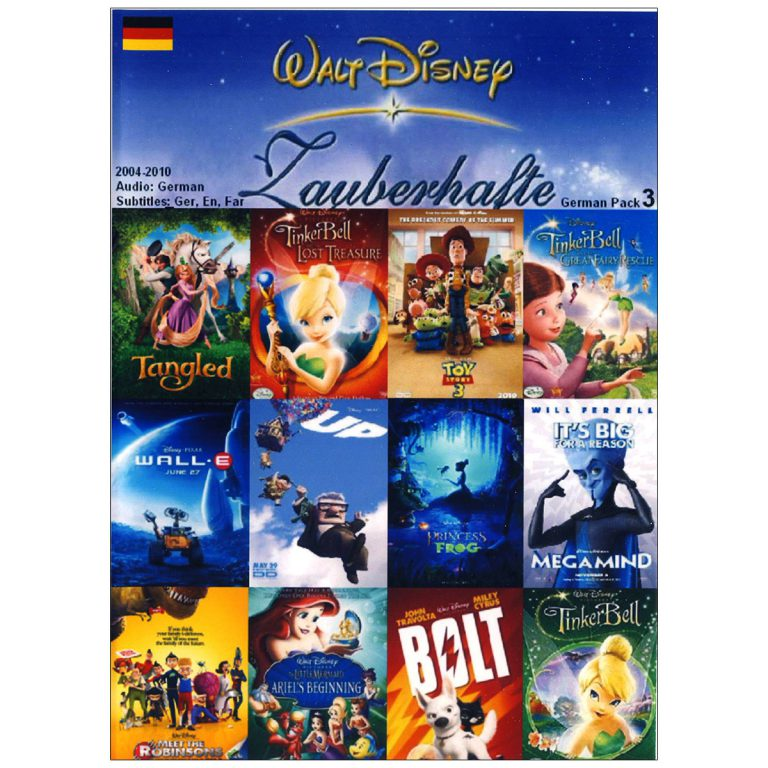 والت دیزنی WALT DISNEY German Pack 3