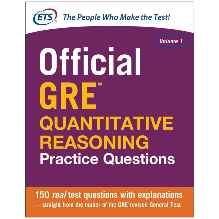 Official GRE Quantitative Reasoning
