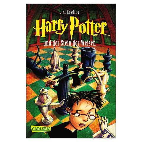 رمان آلمانی Harry potter 1