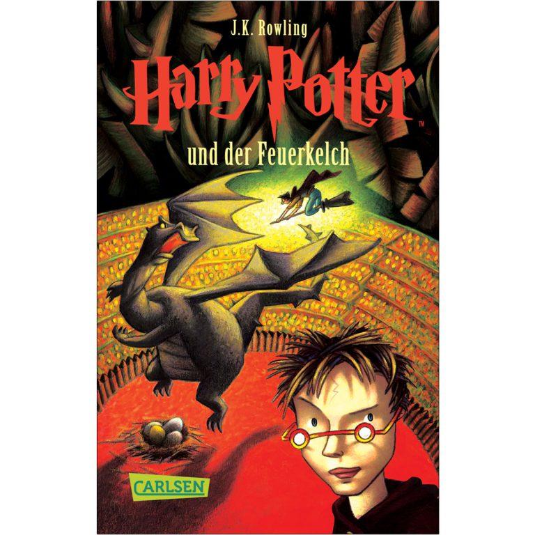 رمان آلمانی HARRY POTTER 4